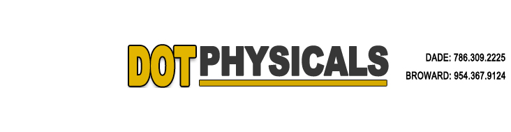 DOT Physicals Fast, Reliable Logo
